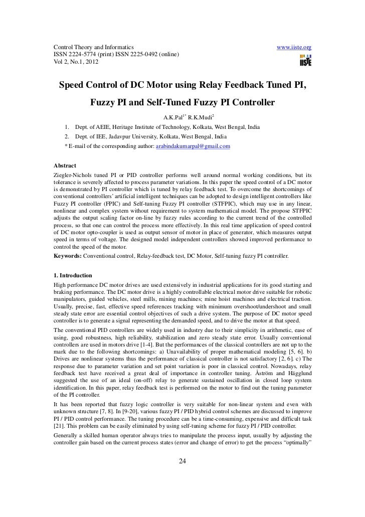 Control Theory and Informatics                                                                   www.iiste.orgISSN 2224-57...