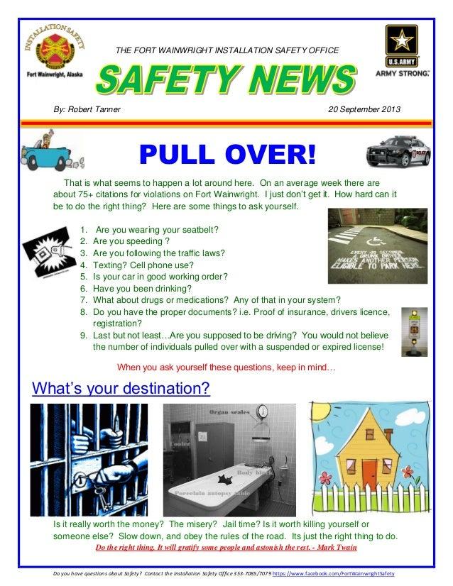 Speeding newsletter 20 sep 2013
