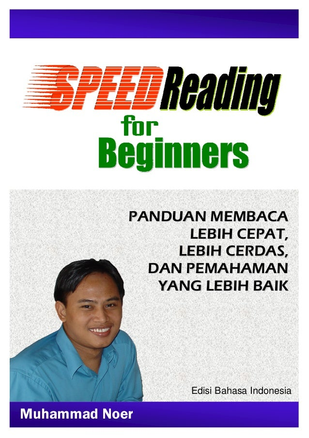 Speed reading for beginners