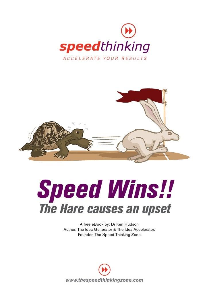 Speed Thinking E Book