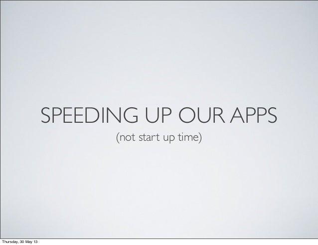 Speed up Rails Responses