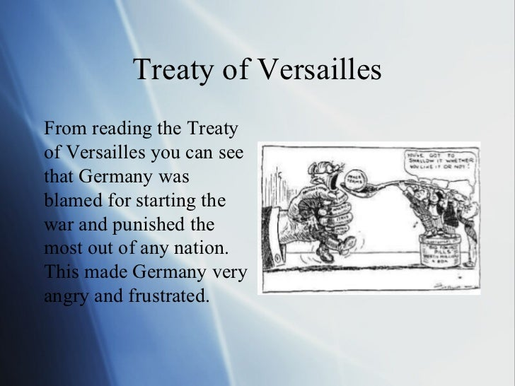 the two main issues of the treaty of versailles The treaty of versailles had two main issues on which it focused: germany's post war territory and also the amount of reparations germany must pay in the east, germany was literally split into two parts.