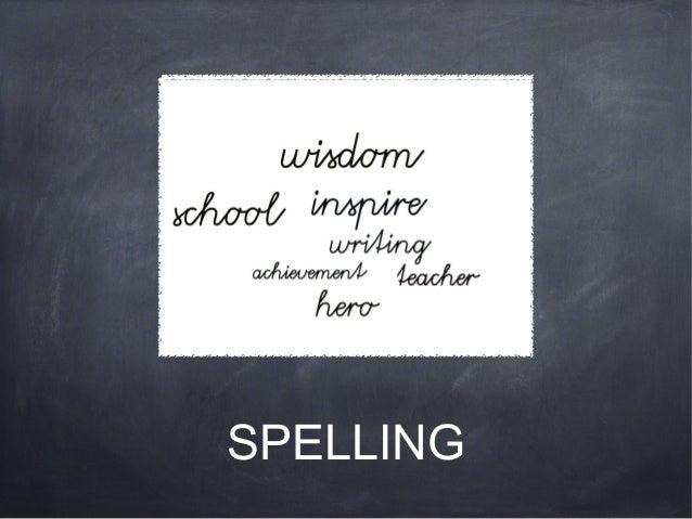 Spelling project skye