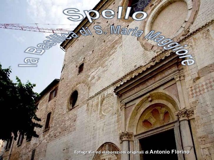 Spello basilica di s.maria maggiore