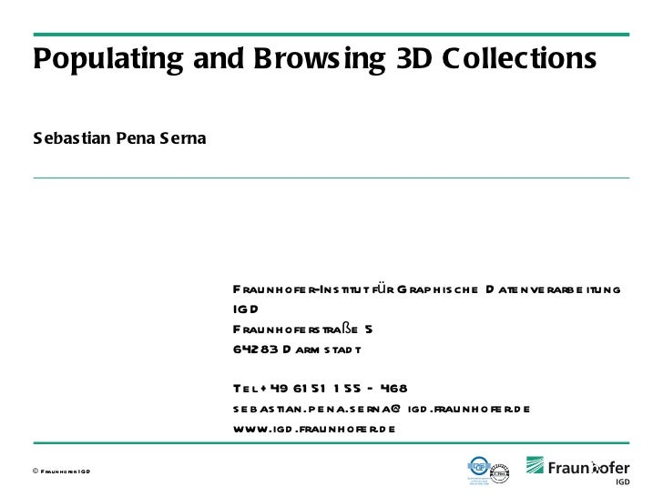 3dcollections