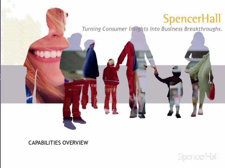 SpencerHall Capabilities Overview