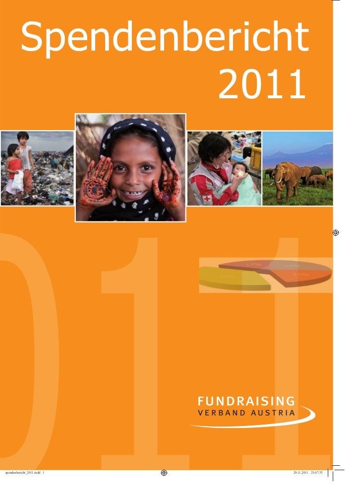 Spendenbericht   1         2011
