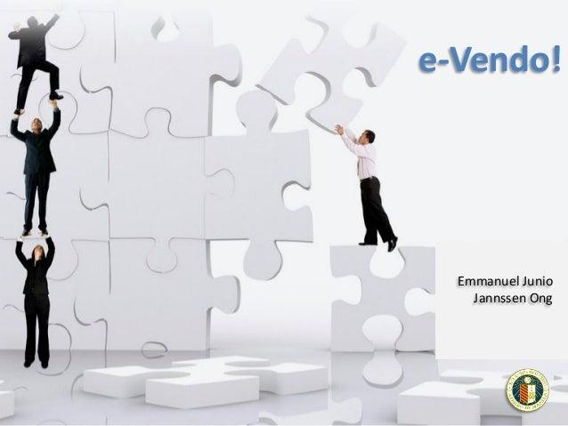 SPENTREP - E-vendo (2013.Sep.9)