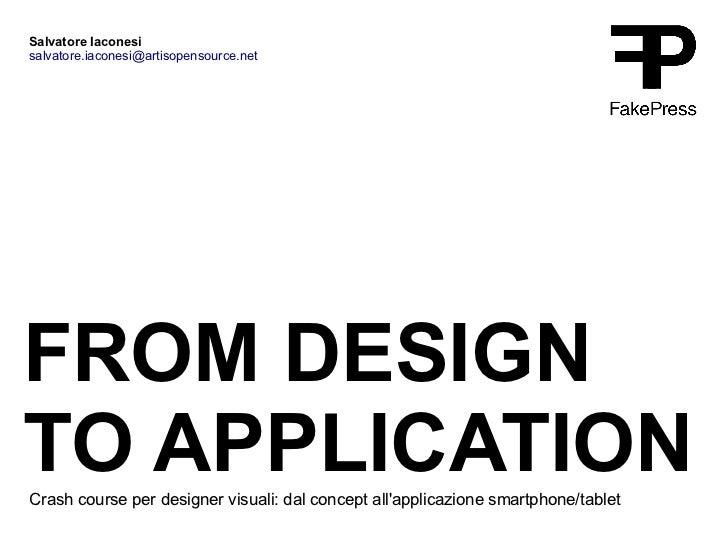 Sperimentazioni lezione6 from_designtoapplication copy