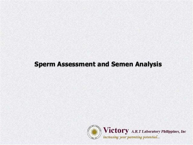 Sperm Assessment and Semen Analysis