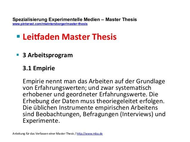 expose zur dissertation