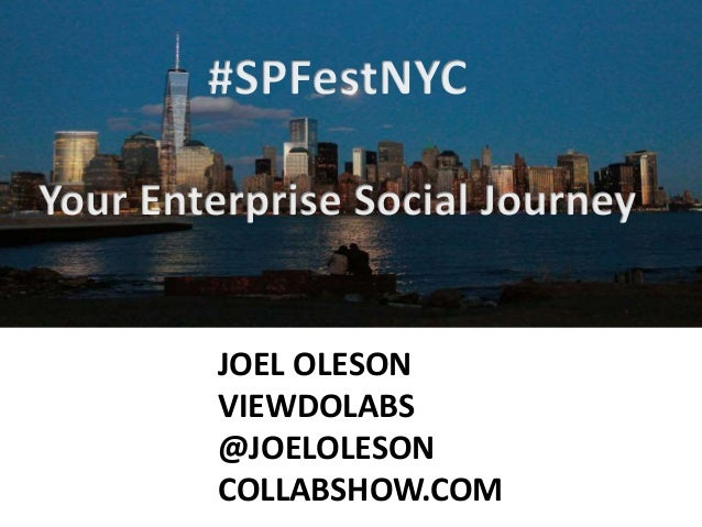 Business Value in Enterprise Social - SharePoint Fest 2014
