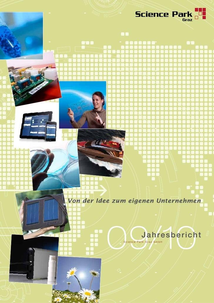 Jahresber i c h tScience Park Graz GmbH