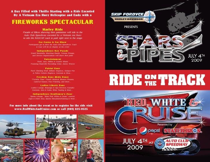 Stars & Pipes Harley Ride Brochure