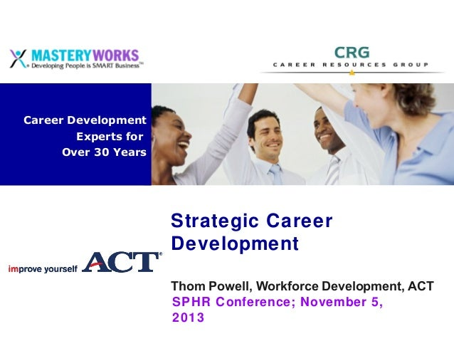 Career Development Solutions  Career Development Experts for Over 30 Years  Strategic Career Development Thom Powell, Work...