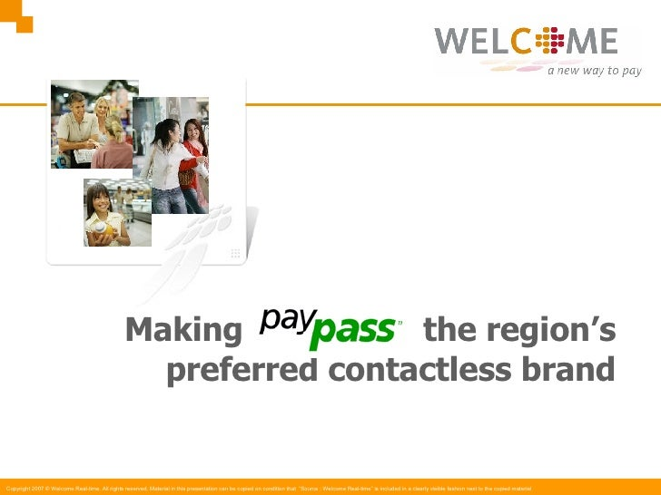 Making  the region's preferred contactless brand
