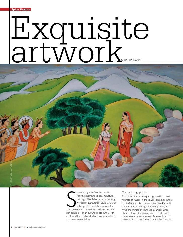 Spice Jet Feature  Kangra Paintings