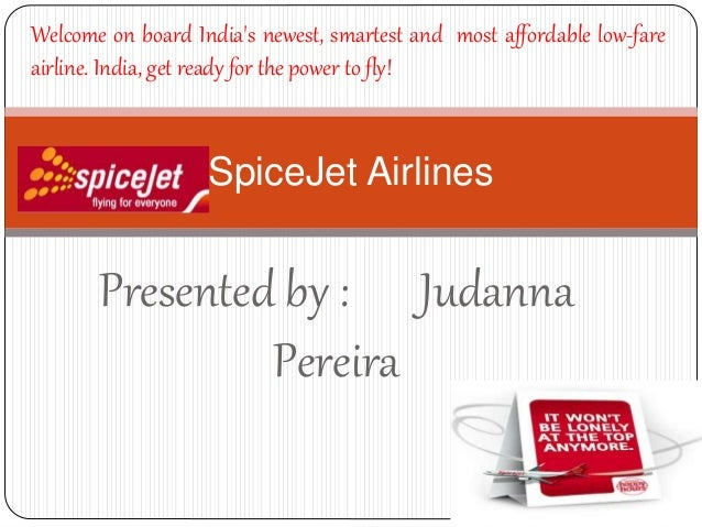 Spice|Jet Airlines