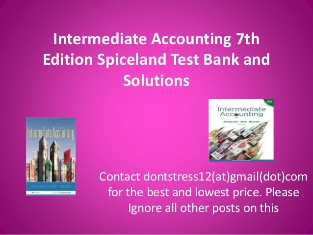 Intermediate Accounting 14th Edition Chapter 13 Solutions