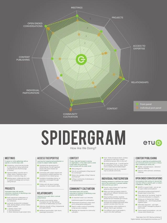 Spidergram Poster 2013