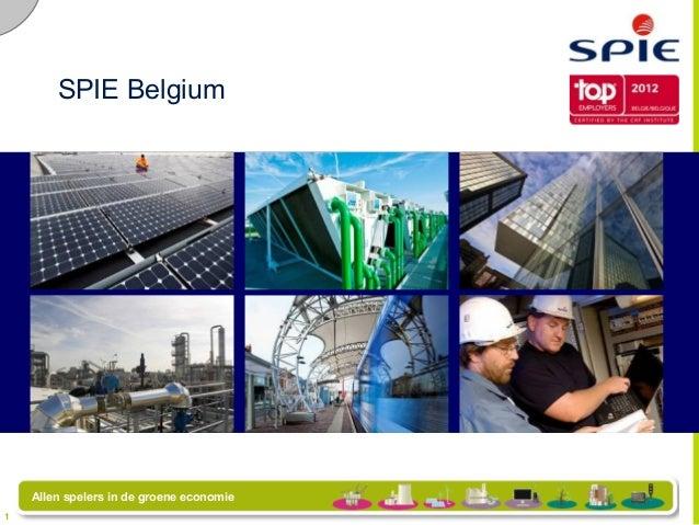 SPIE Belgium                                         SPIE BelgiumAuthor  Date  Presentation title                       ...
