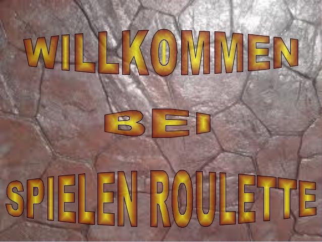 http://www.spielenroulette.com/           Willkommen beim Spielen RouletteSpielenroulette.com ist der beste Ort, umOnline-...