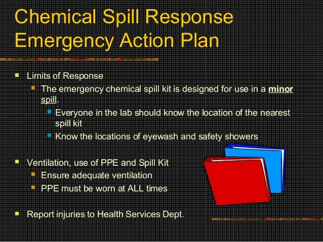 how to clean up a chemical spill