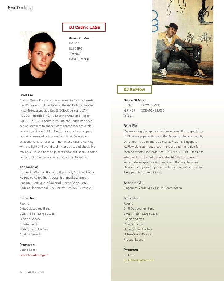 SpinDoctors                                               DJ Cedric LASS                                             Genre...