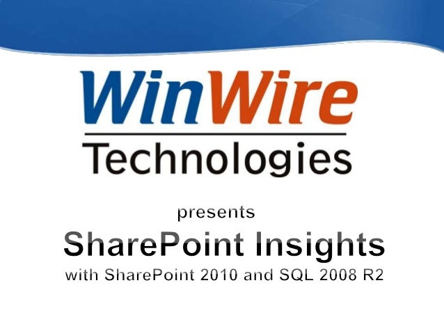 SharePoint Insights Oct 28 2010