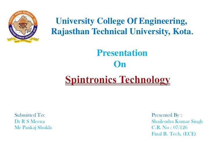 University College Of Engineering,            Rajasthan Technical University, Kota.<br />Presentation <br />    On<br />S...