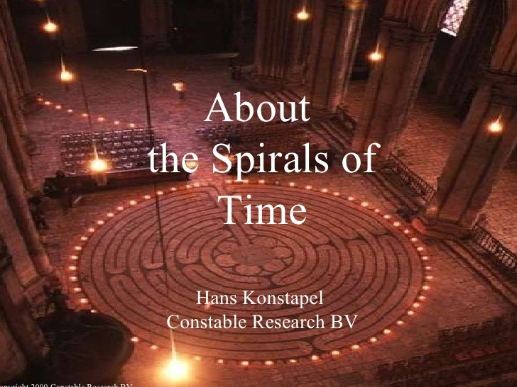 About  the Spirals of Time Hans Konstapel  Constable Research BV © Copyright 2009 Constable Research BV