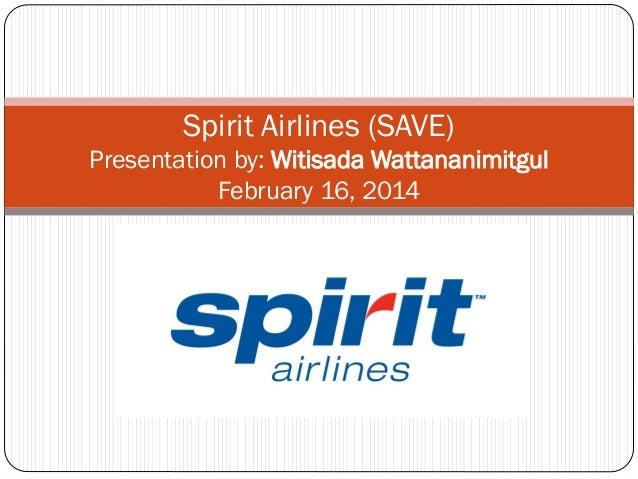 LONG Spirit airlines