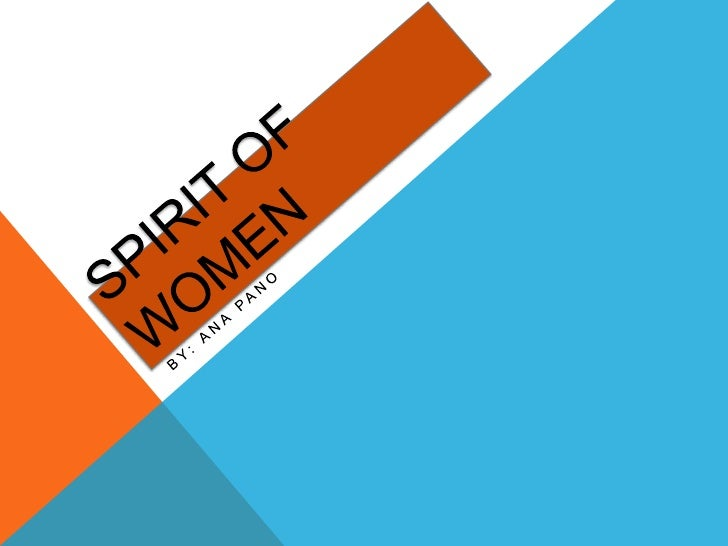 Spirit of women