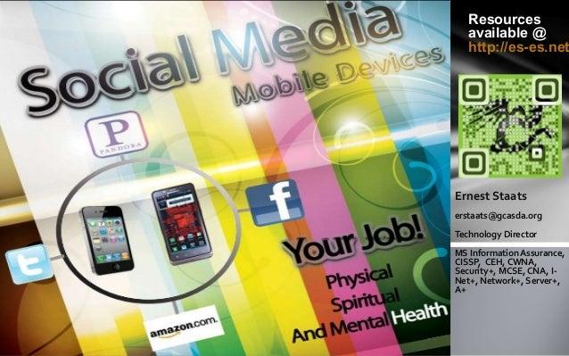 Spiritual social media & mobile devices