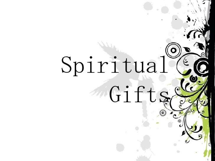 Spiritu al  Gifts