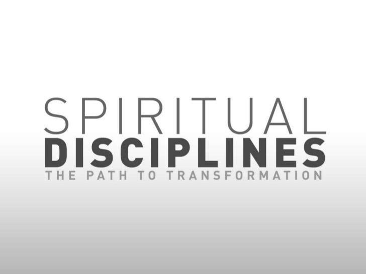 Spiritual Disciplines: Bible Study & Meditation