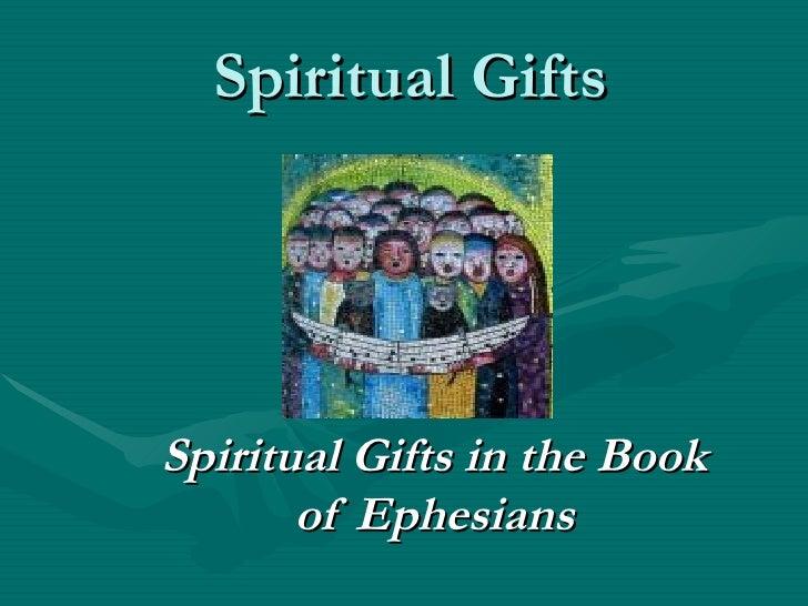 Spiritual Gifts Week 5