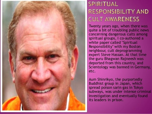 Twenty years ago, when there was quite a bit of troubling public news concerning dangerous cults among spiritual groups, I...
