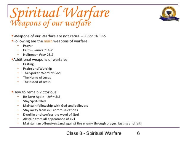 How to Do Spiritual Warfare