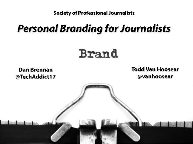 Personal Branding for Journalists