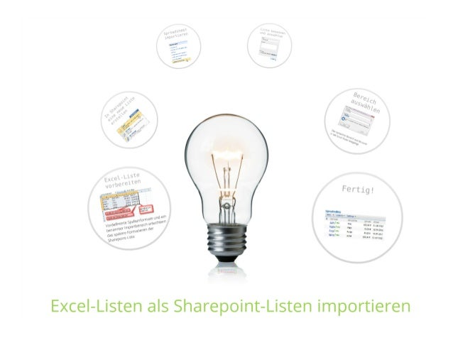 SharePoint Lektion #1: Import von Excel-Dateien