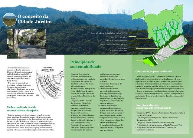 O conceito urbanístico das cidades-jardim foi criado por Ebenezer Howard, um urbanista inglês do final do século XIX e ado...