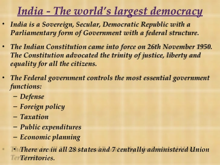 the ideal democracy essay The democracy in america is one of the most popular assignments among students' documents if you are stuck with writing or missing ideas, scroll down and find inspiration in the best samples.