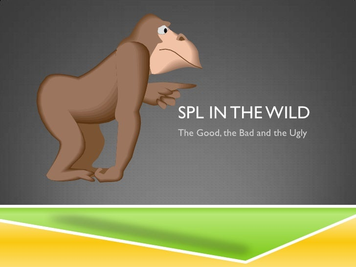 SPL IN THE WILDThe Good, the Bad and the Ugly