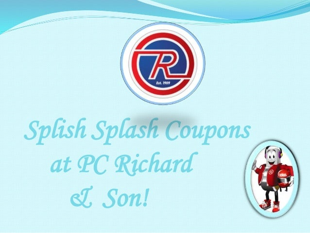 Pc richards coupon code