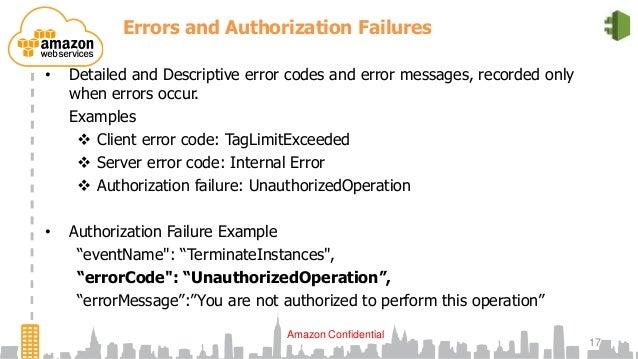 Examples  Client Error Code