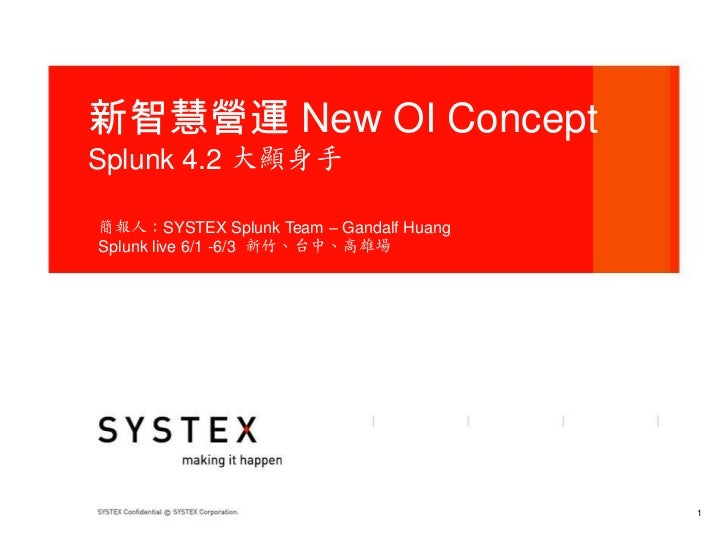 查小三 + 新智慧營運 Splunk4.2大顯身手