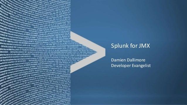 Splunk for JMX