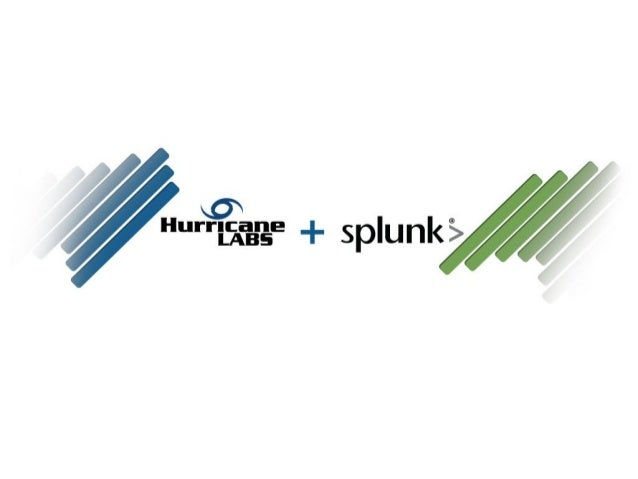 Hurricane Labs• Company History• Founded in 2004• Security services company• Cleveland, OH• Customer base around the    wo...