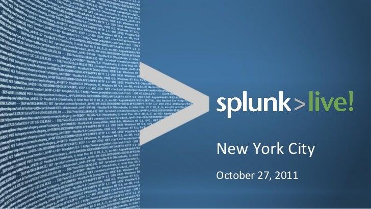 New York City October 27, 2011
